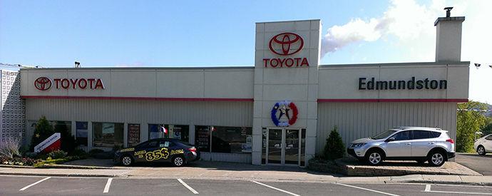 Toyota dealership in Edmundston