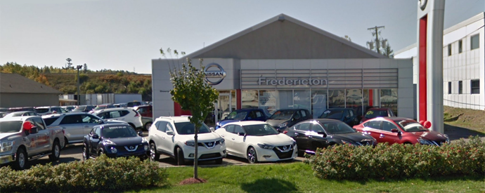 Nissan dealership in Fredericton