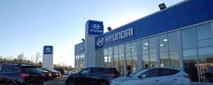Hyundai dealership in Bonaventure