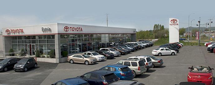 Concessionnaire Toyota à Granby