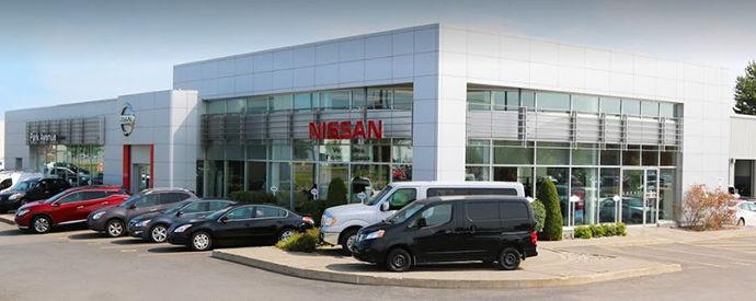 Nissan dealership in Brossard