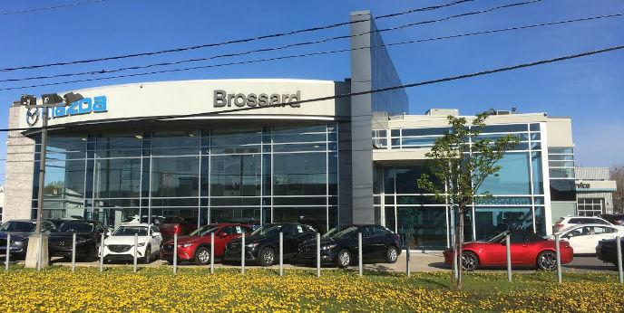 Mazda dealership in Brossard
