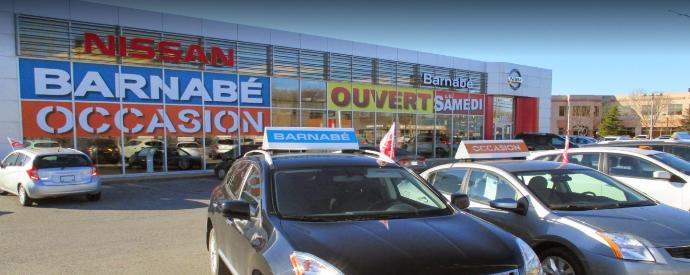 Concessionnaire Nissan à Châteauguay