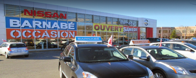 Nissan dealership in Châteauguay
