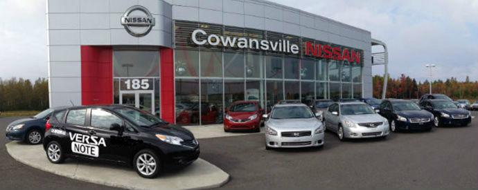 Concessionnaire Nissan à Cowansville