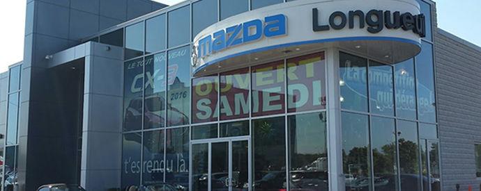 Concessionnaire Mazda à Longueuil