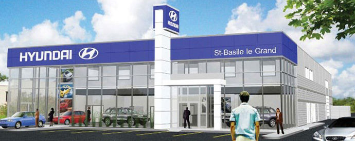 Hyundai dealership in Saint-Basile-le-Grand