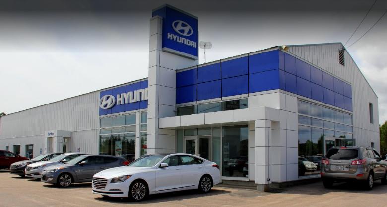 Hyundai dealership in Baie-Comeau