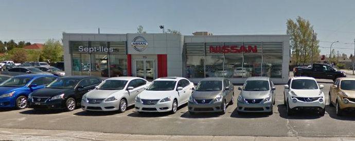 Concessionnaire Nissan à Sept-Îles