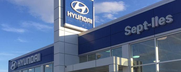 Concessionnaire Hyundai à Sept-Iles