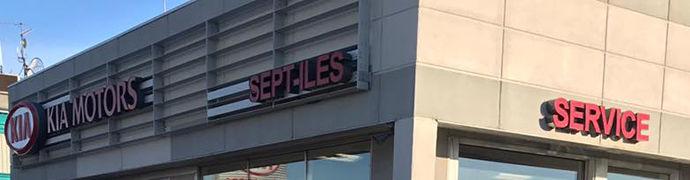 Kia dealership in Sept-Iles