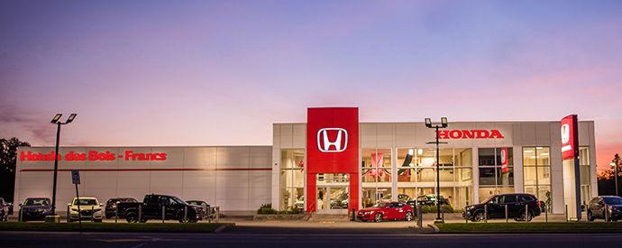 Concessionnaire Honda à Victoriaville