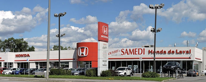 Honda dealership in laval on montreal 39 s north shore for Honda north shore