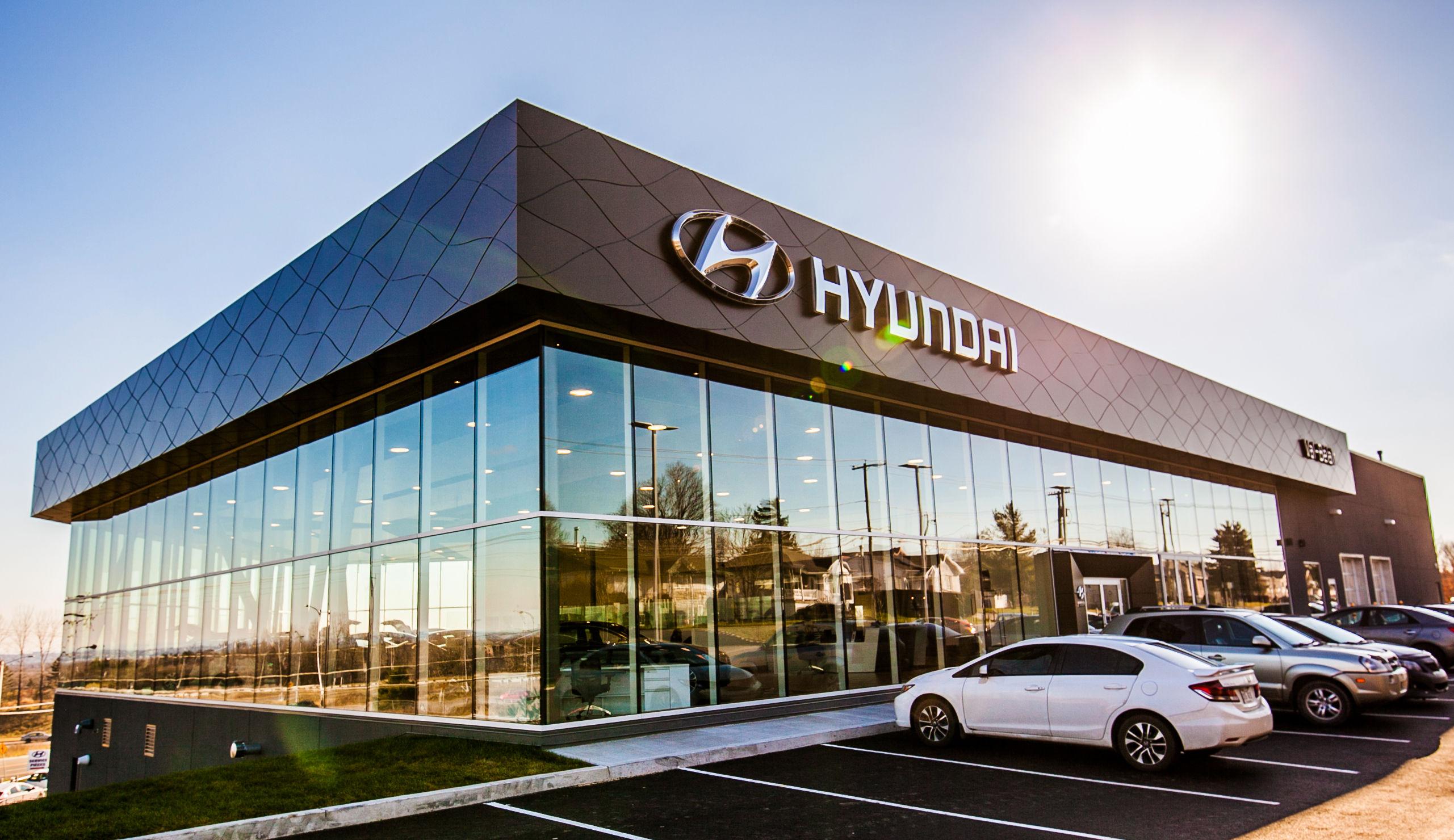 Hyundai dealership in Quebec