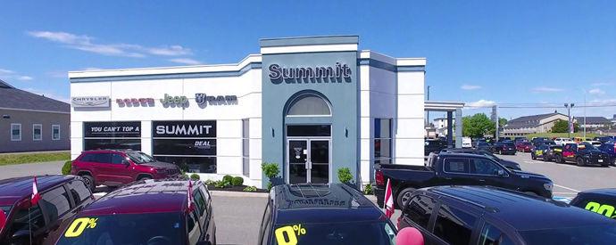 Concessionnaire Jeep, Dodge, RAM, Chrysler à Fredericton