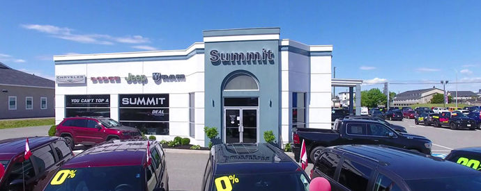 Jeep, Dodge, RAM, Chrysler dealership in Fredericton