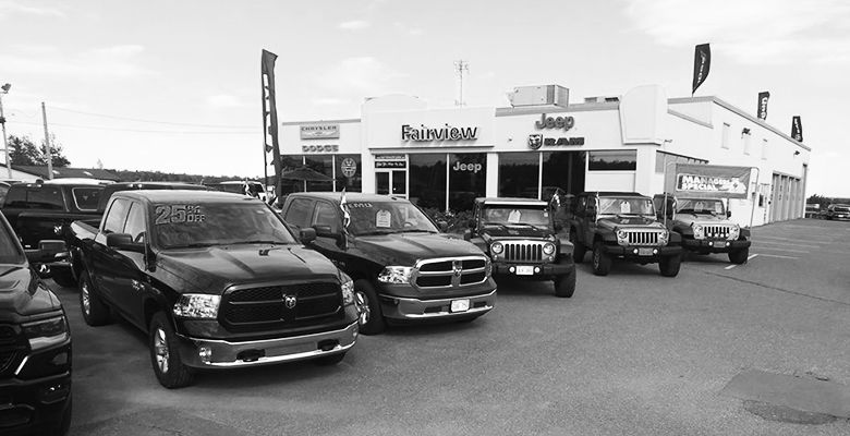 Jeep, Chrysler, Dodge, RAM dealership in Fredericton