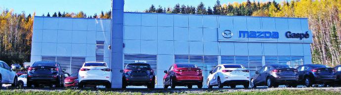 Concessionnaire Mazda à Gaspé