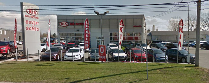 Kia dealership in Salaberry de Valleyfield