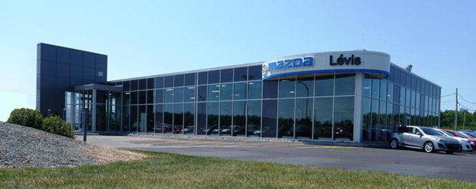 Mazda dealership in Lévis