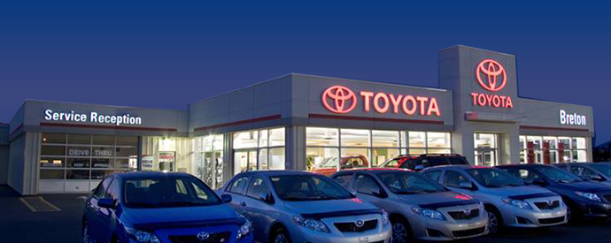 Toyota dealership in Sydney