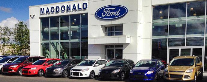 Ford dealership in Sydney