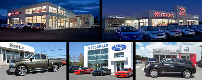 Kia, Nissan, Toyota, Ford, Jeep, Chrysler, Dodge, RAM dealership