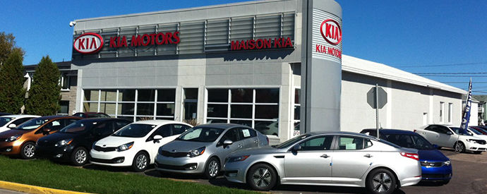 Kia dealership in Dolbeau-Mistassini