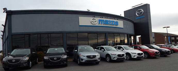 Mazda dealership in Lac-Mégantic