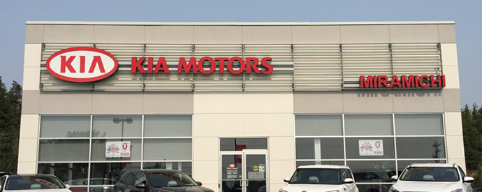 Kia dealership in Miramichi