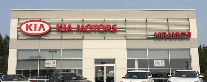 Kia dealership in Miramichi