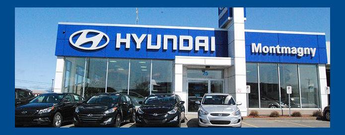 Hyundai dealership in Montmagny