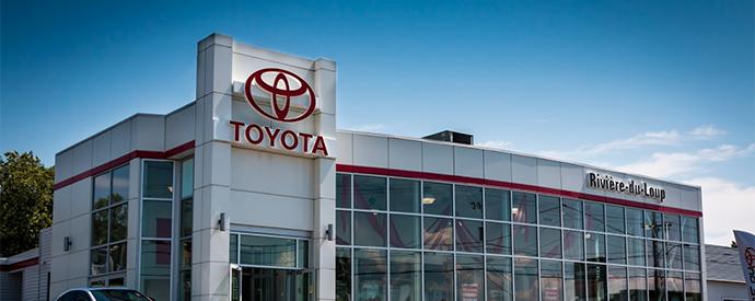 Concessionnaire Toyota à Rivière-du-Loup