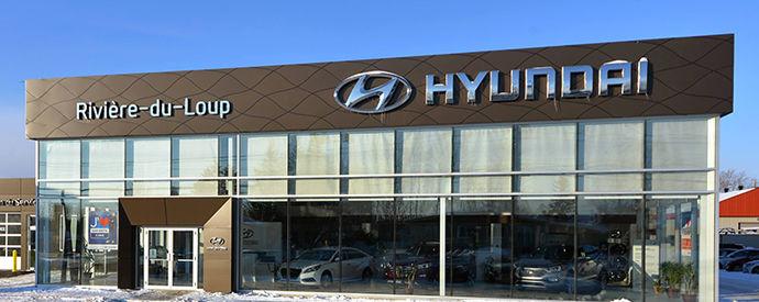 Concessionnaire Hyundai à Riviere-Du-Loup