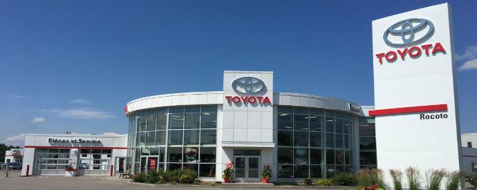 Concessionnaire Toyota à Chicoutimi