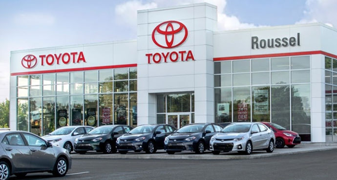 Toyota dealership in Miramichi
