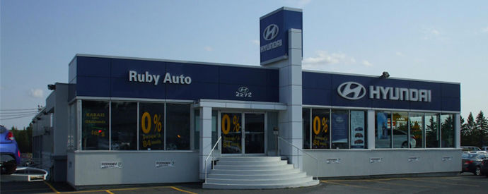 Hyundai dealership in Thetford Mines
