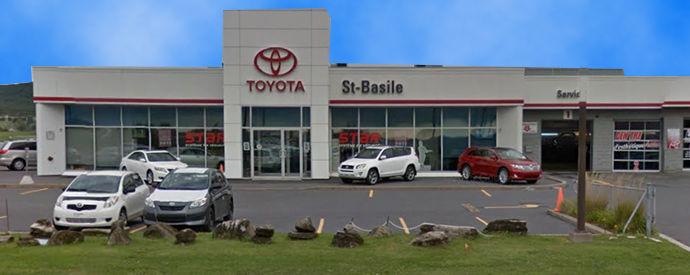 Concessionnaire Toyota à Saint-Basile-Le-Grand