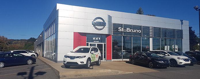 Nissan dealership in Saint-Basile-le-Grand