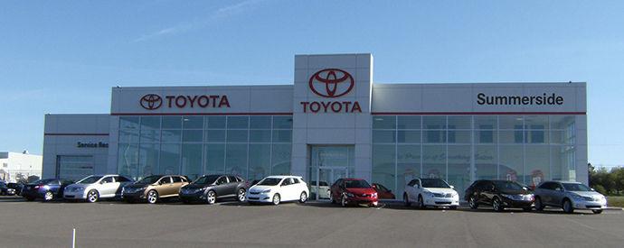 Concessionnaire Toyota à Summerside