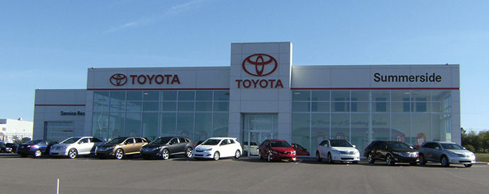 Toyota dealership in Summerside