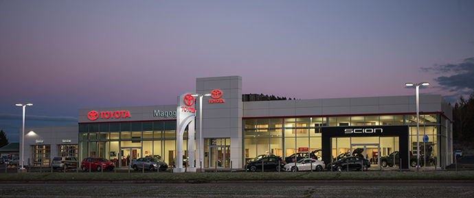 Toyota dealership in Magog