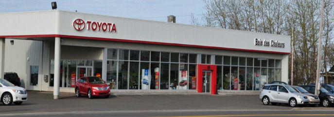 Concessionnaire Toyota à Caplan