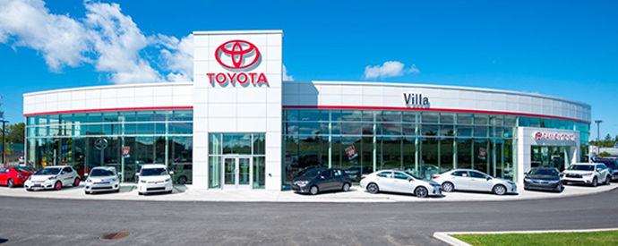 Concessionnaire Toyota à Gatineau