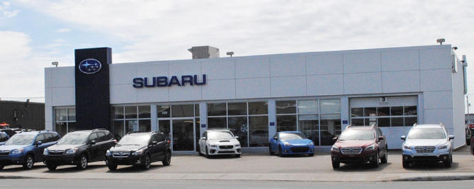 Subaru dealership in Sept-Iles