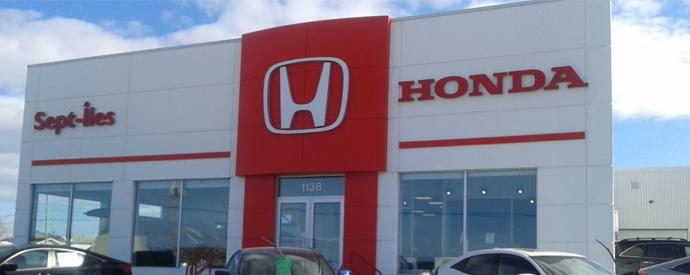 Concessionnaire Honda à Sept-Iles
