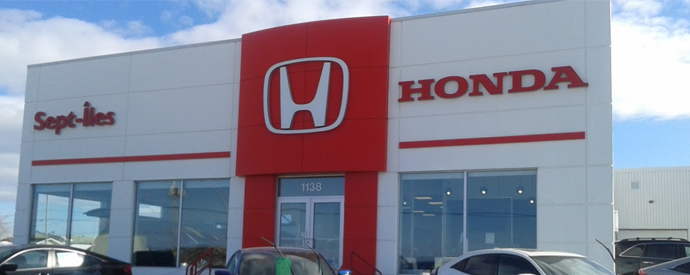 Honda dealership in Sept-Iles