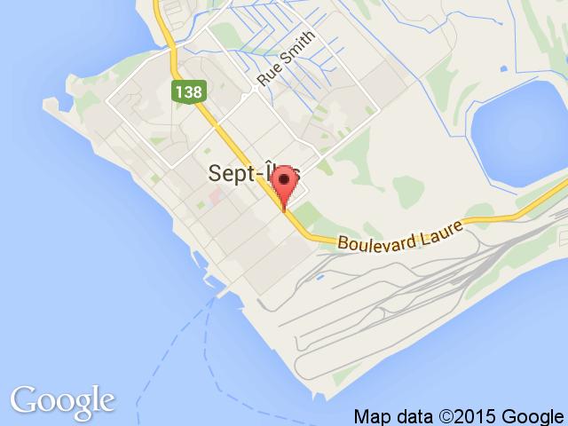 googlemap Sept-Iles Subaru