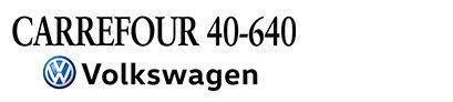 Carrefour 40-640 Volkswagen Logo