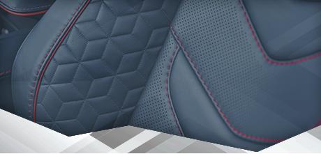 <p>Ce qui définit Q by Aston Martin, c'est le détail. Les surfaces extérieures comme intérieures peuvent servir à affirmer le caractère individuel et stylistique qui vous est propre. De nombreuses options vous sont proposées pour créer une voiture à la signature unique et personnelle, notamment les commandes rotatives couleur bronze, les habillages en fibre de carbone aux coloris exclusifs et les lames de prise d'air avant peintes, pour ne citer que celles-ci.</p> DES DÉTAILS INDIVIDUELS D'UN RAFFINEMENT EXQUIS